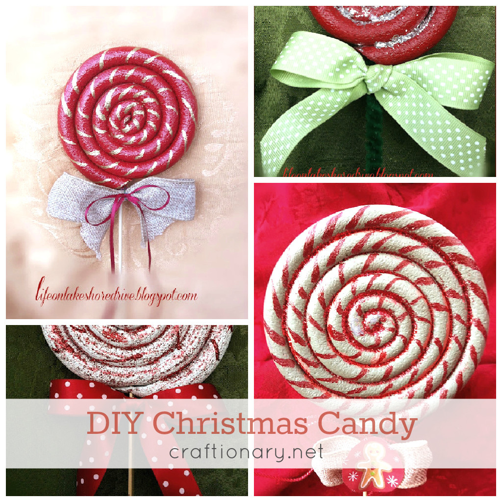 Christmas Candy Ornaments  Craftionary
