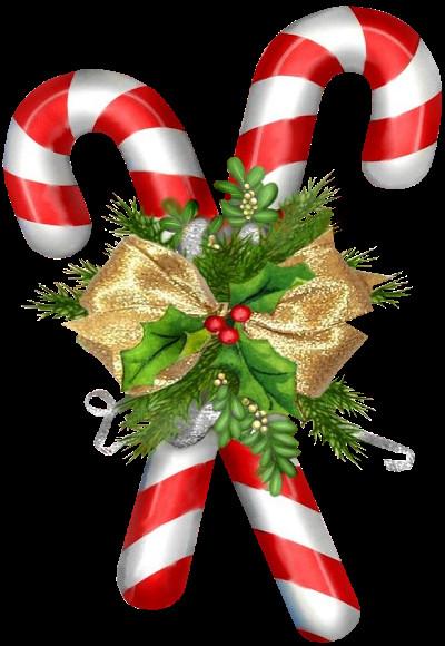 Christmas Candy Png  tubes noel cannes pains d épices bonbons