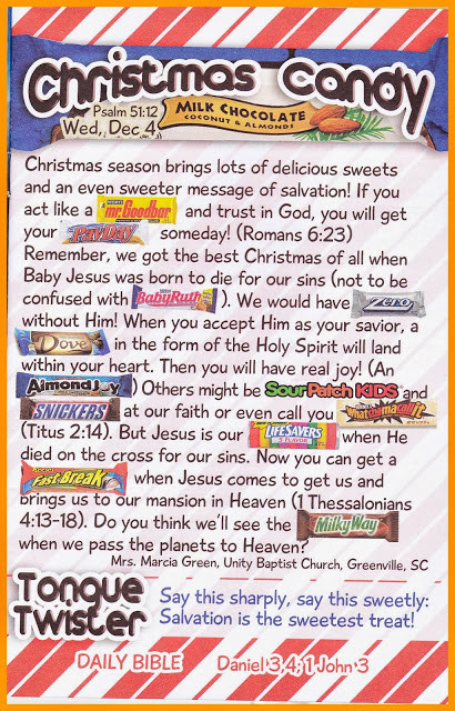 Christmas Candy Poems  Children s Gems In My Treasure Box Christmas Candy