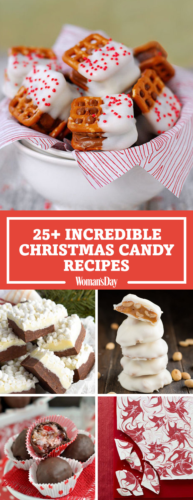 Christmas Candy Recipe  28 Homemade Christmas Candy Recipes How To Make Your Own