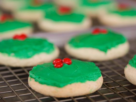 Christmas Candy Recipes Pioneer Woman  Sugar cookies Cake cookies and Cakes on Pinterest