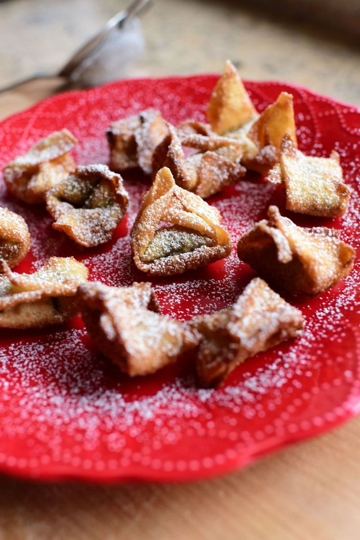 Christmas Candy Recipes Pioneer Woman  Nutella Wontons Recipe