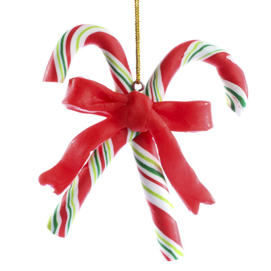 Christmas Candy Sales  Polymer Clay Candy Cane Ornament Christmas and Winter