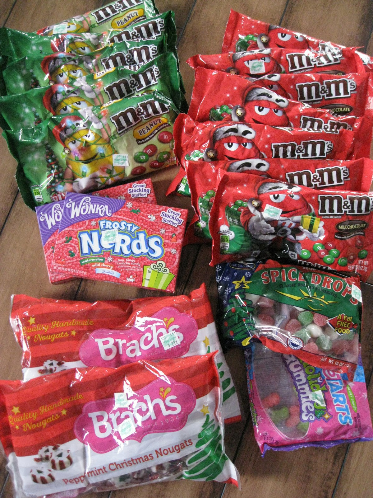 Christmas Candy Sales  Kammy s Korner Christmas sale candy junkin and more