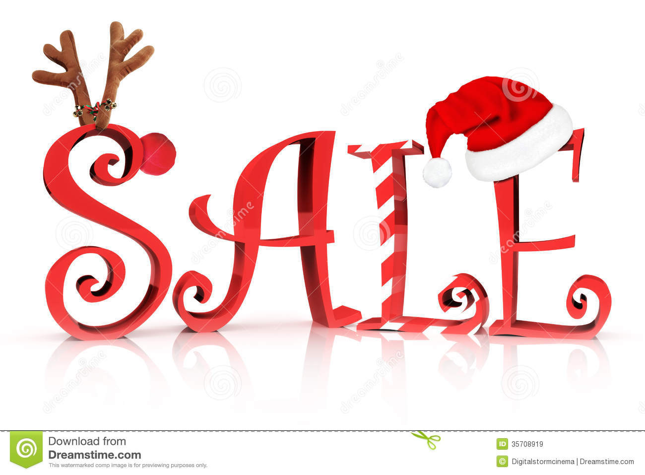 Christmas Candy Sales  Christmas Holiday Sale Royalty Free Stock Image