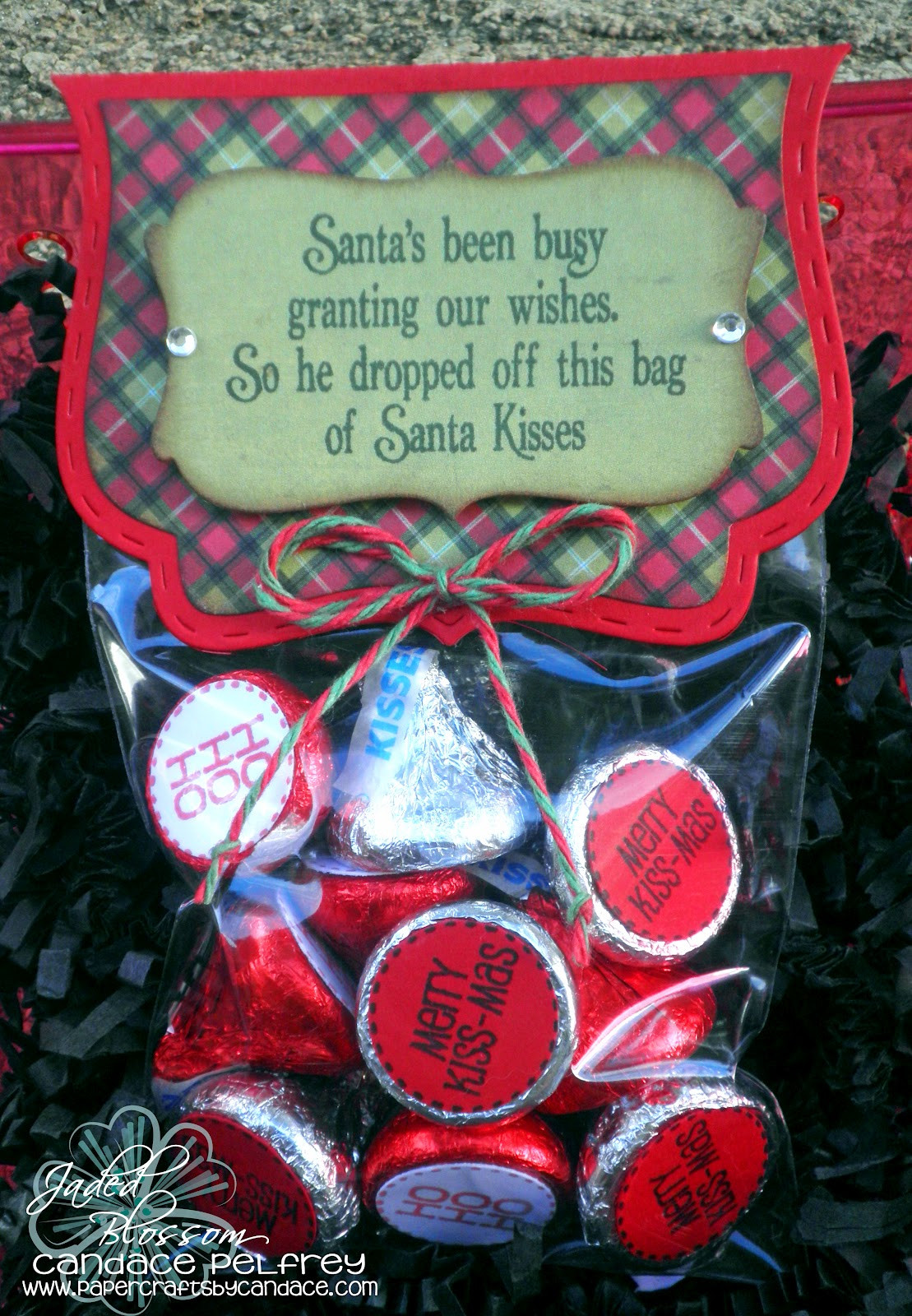 Christmas Candy Sayings  Paper Crafts by Candace Jaded Blossom Stamp Release Week