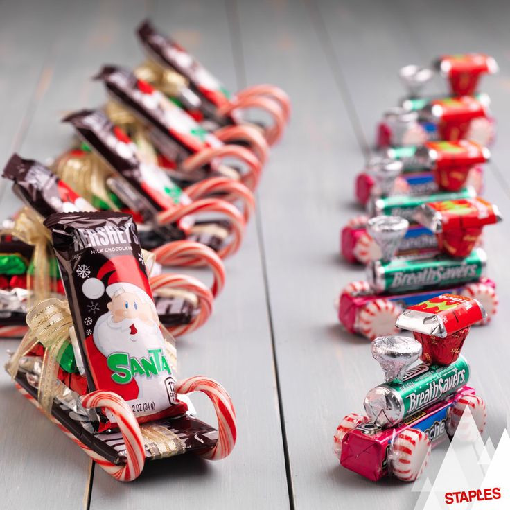 Christmas Candy Sleds  1000 ideas about Candy Sleigh on Pinterest