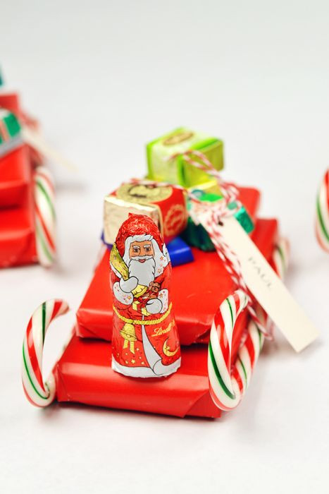 Christmas Candy Sleds  17 Best ideas about Candy Sleigh on Pinterest