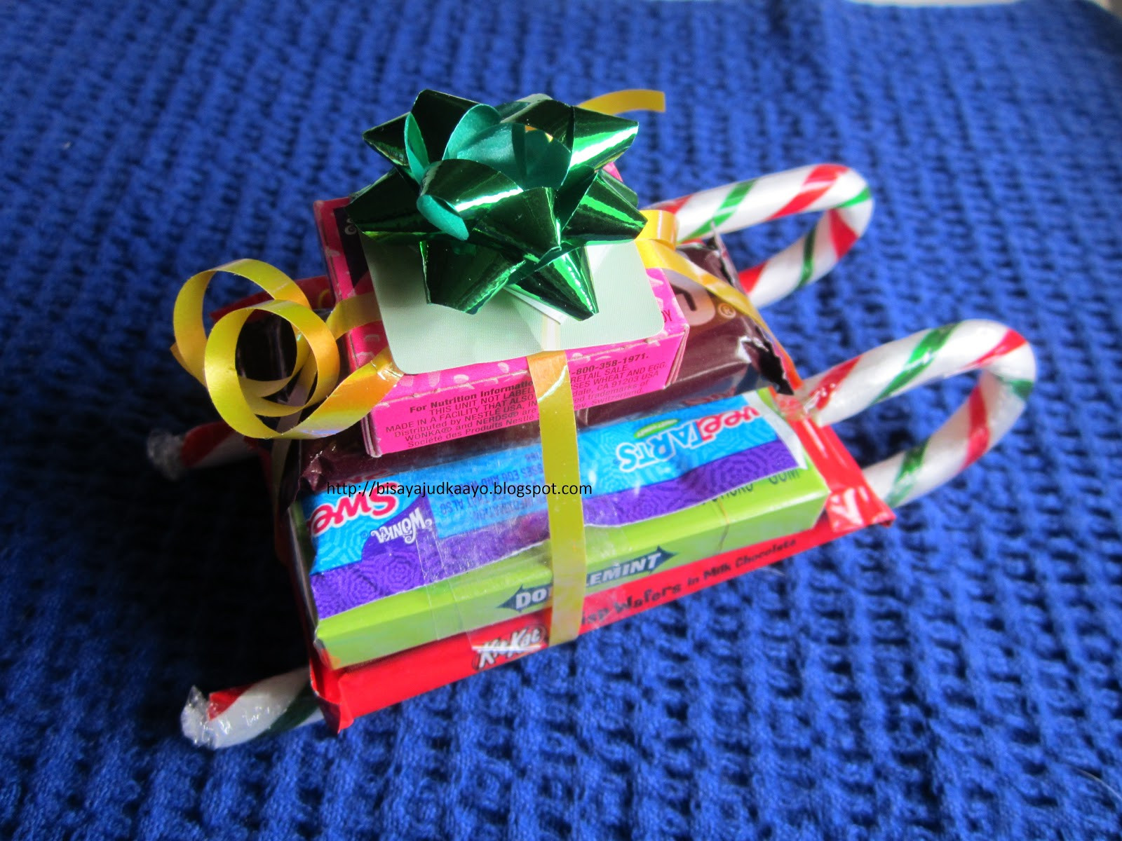 Christmas Candy Sleigh  Inato lang Filipino Cuisine and More CHRISTMAS CANDY SLEIGHS