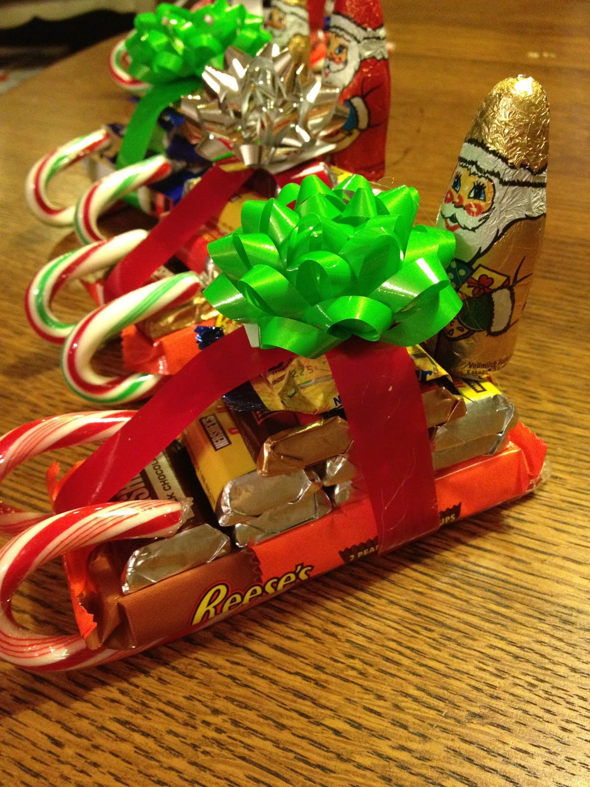 Christmas Candy Sleigh  French Hen Farm gentlemen art your engines