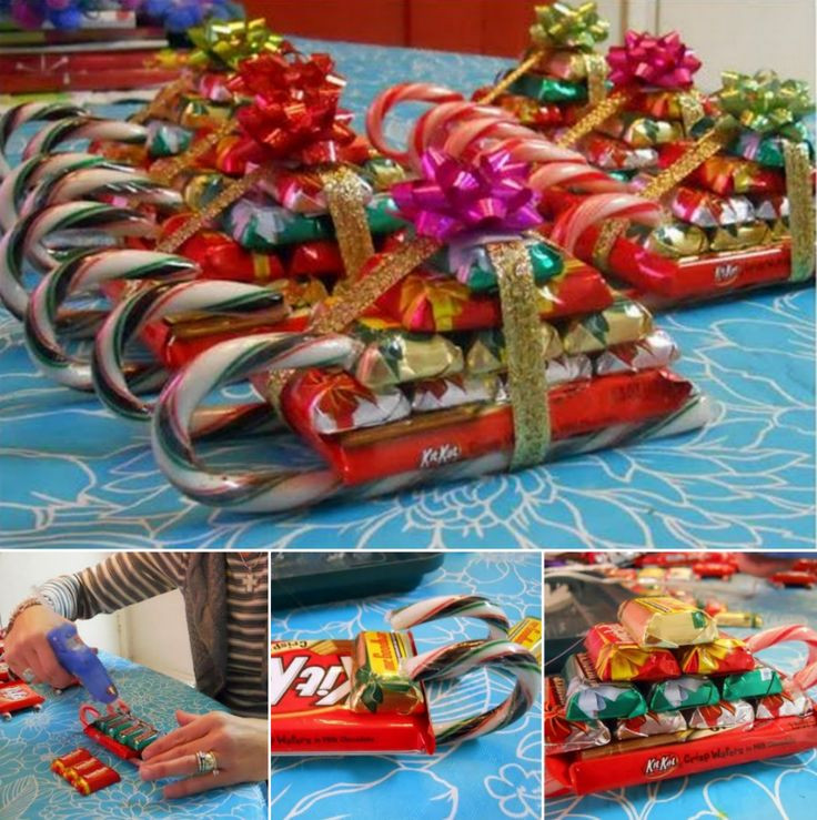 Christmas Candy Sleigh  Wonderful DIY Cute Teddy Bear Christmas Sleighs