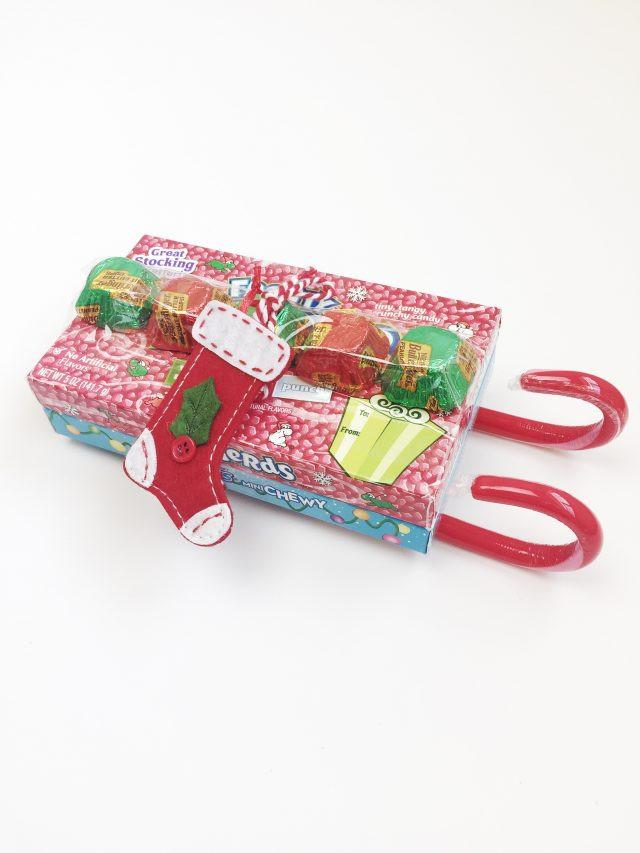 Christmas Candy Stocking Stuffers  Holiday Candy Sled Stocking Stuffers
