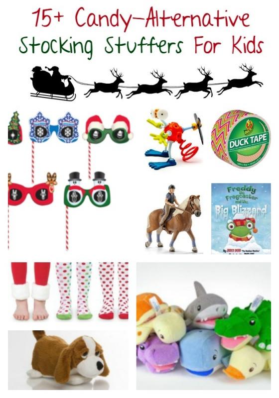 Christmas Candy Stocking Stuffers  15 Candy free Stocking Stuffer Ideas For Kids