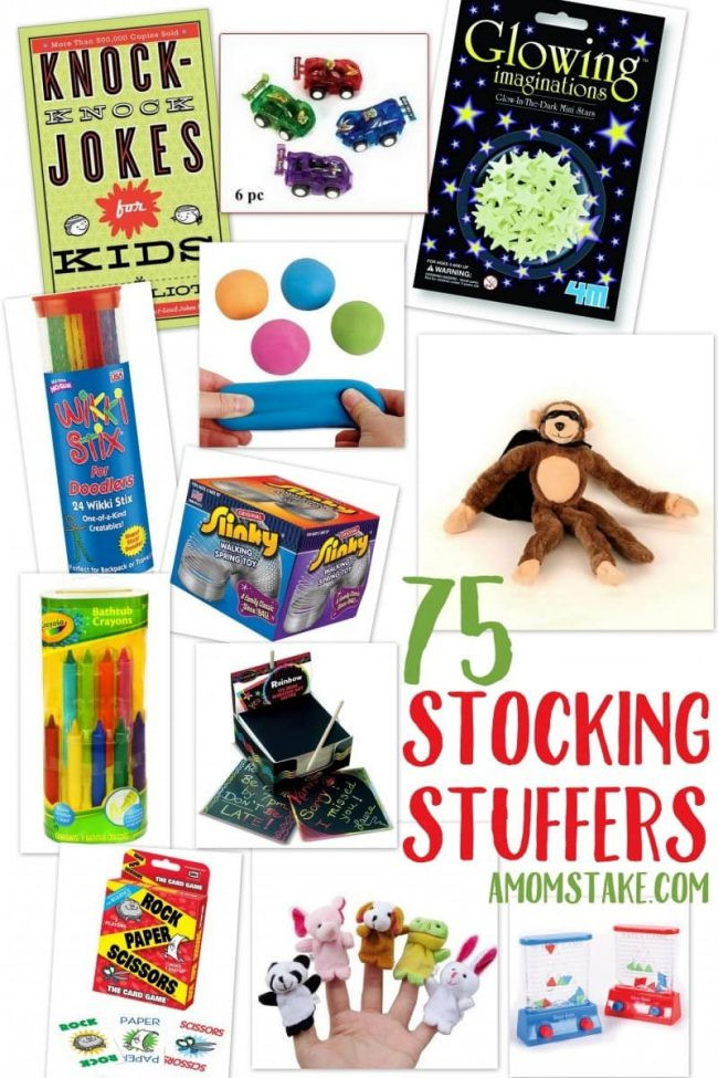 Christmas Candy Stocking Stuffers  75 Stocking Stuffer Ideas for Kids under $10 A Mom s Take