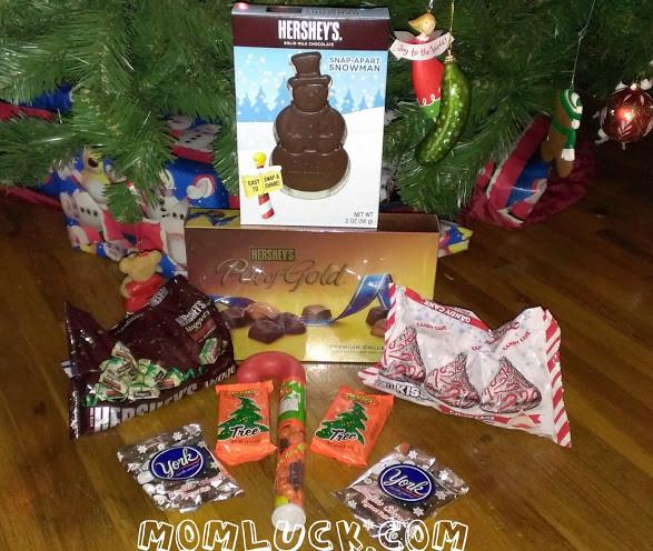 Christmas Candy Stocking Stuffers  2012 Holiday Gift Guide Hershey s Stocking Stuffer Ideas