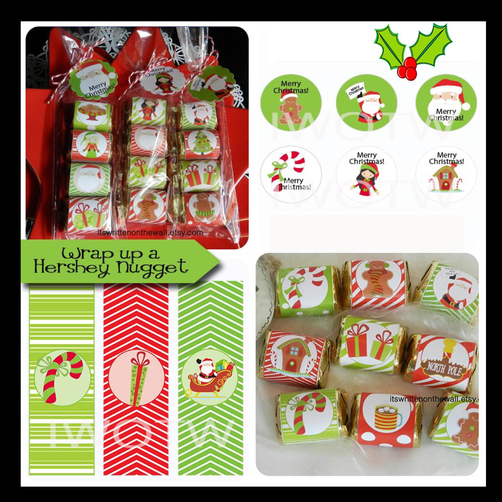 Christmas Candy Stocking Stuffers  It s Written on the Wall Christmas Stocking Stuffers