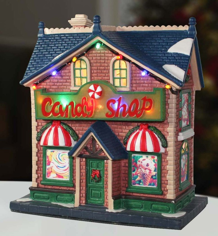 Christmas Candy Store  61 best images about christmas village on Pinterest