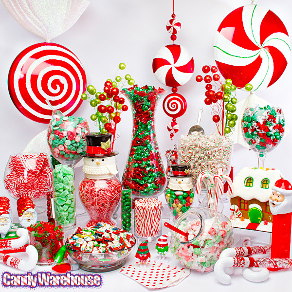 Christmas Candy Store  Christmas Taffy Candy Assortment 3LB Bag