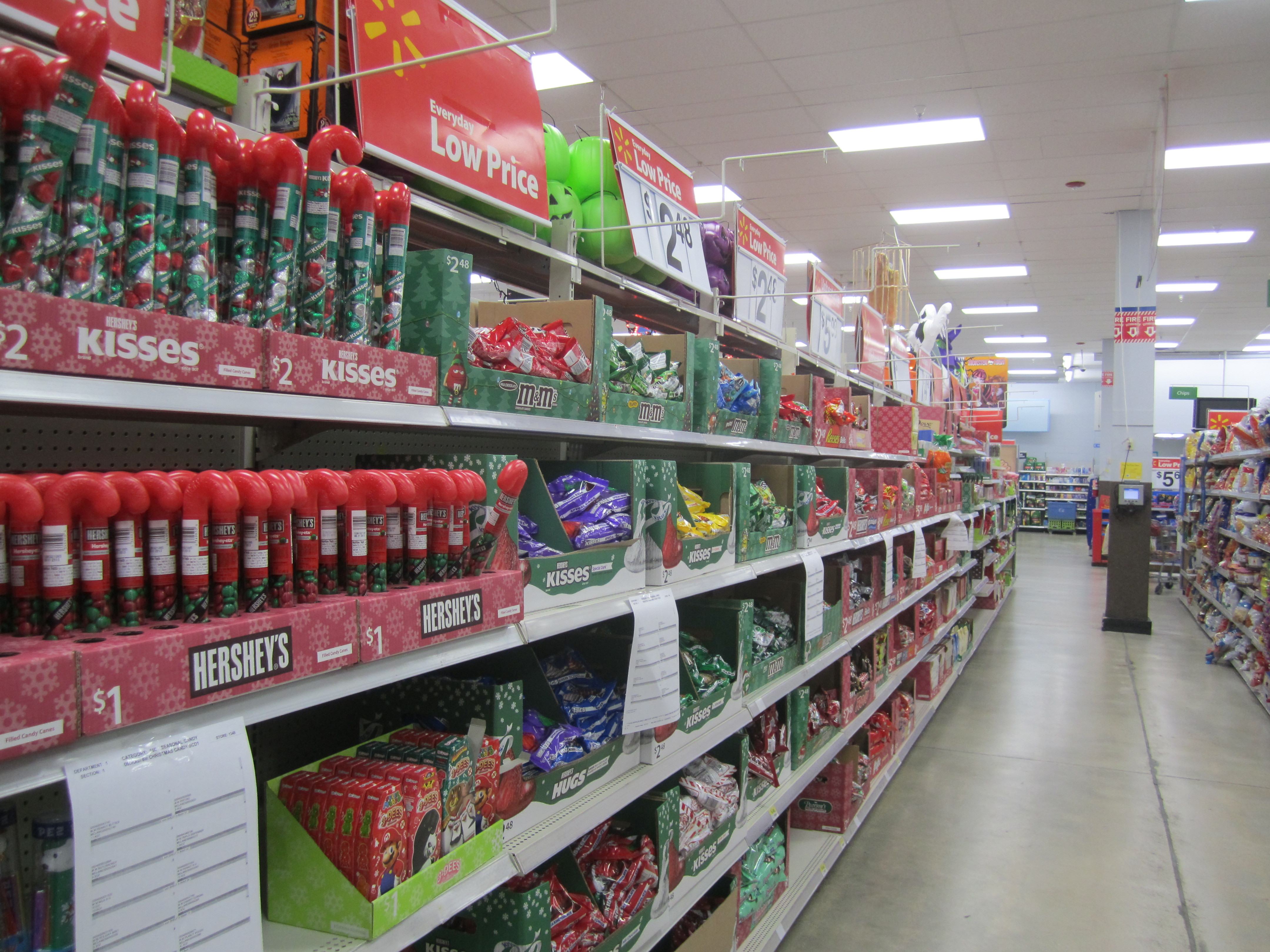 Christmas Candy Walmart  Confused Shopper