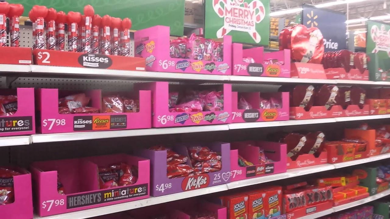 Christmas Candy Walmart  More Walmart Christmas or Valentines
