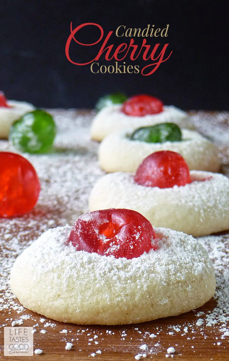 Christmas Cherry Cookies  Can d Cherry Cookies