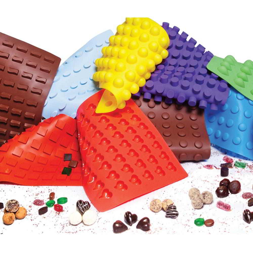 Christmas Chocolate Candy Molds  HOLIDAY BULB Chocolate and Candy Molds 16 g Silicone