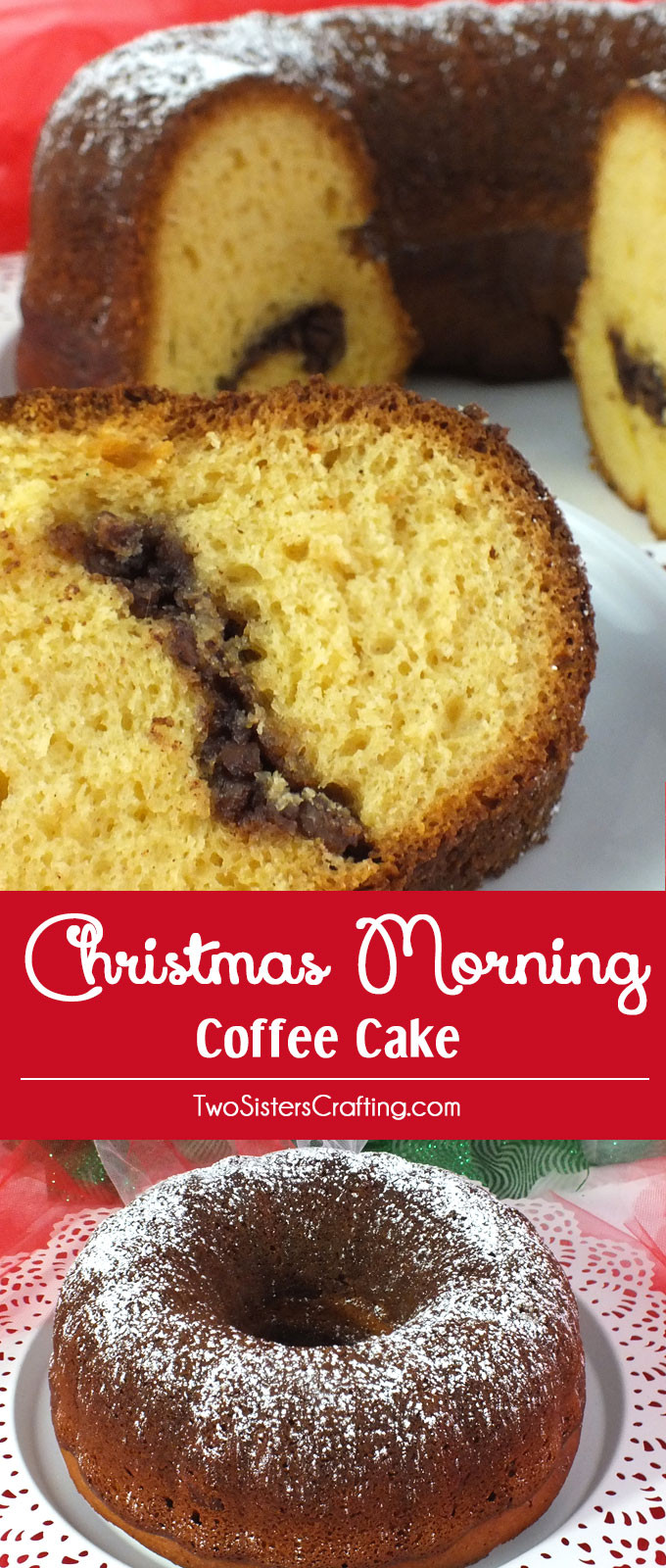 Christmas Coffee Cake  Christmas Morning Coffee Cake Two Sisters