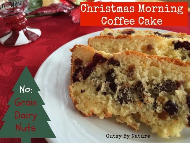 Christmas Coffee Cake  Christmas Morning Coffee Cake Grain Free Dairy Free Nut