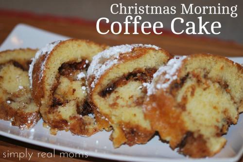 Christmas Coffee Cake  25 Days of Holiday Treats Christmas Morning Coffee Cake