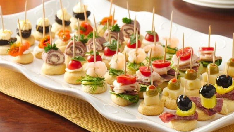 Christmas Cold Appetizers  4 Ingre nt Holiday Appetizers Pillsbury