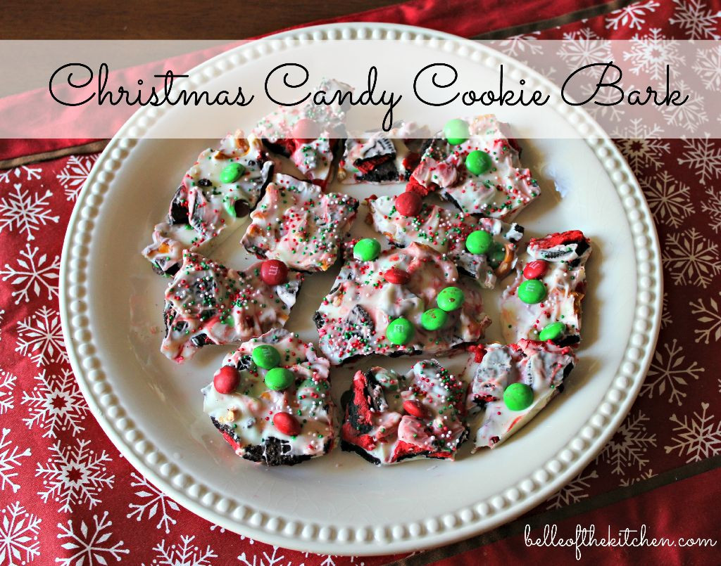 Christmas Cookie And Candy  Christmas Candy Cookie Bark Belle of the Kitchen