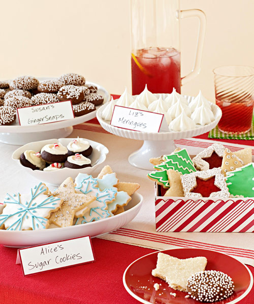 Christmas Cookie Baking Party  Christmas Cookie Exchange Party Ideas for Cookie Party Swap