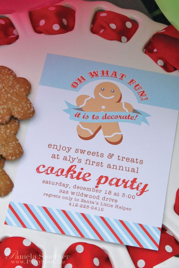 Christmas Cookie Baking Party  Items similar to Oh What Fun Christmas 2011 Holiday