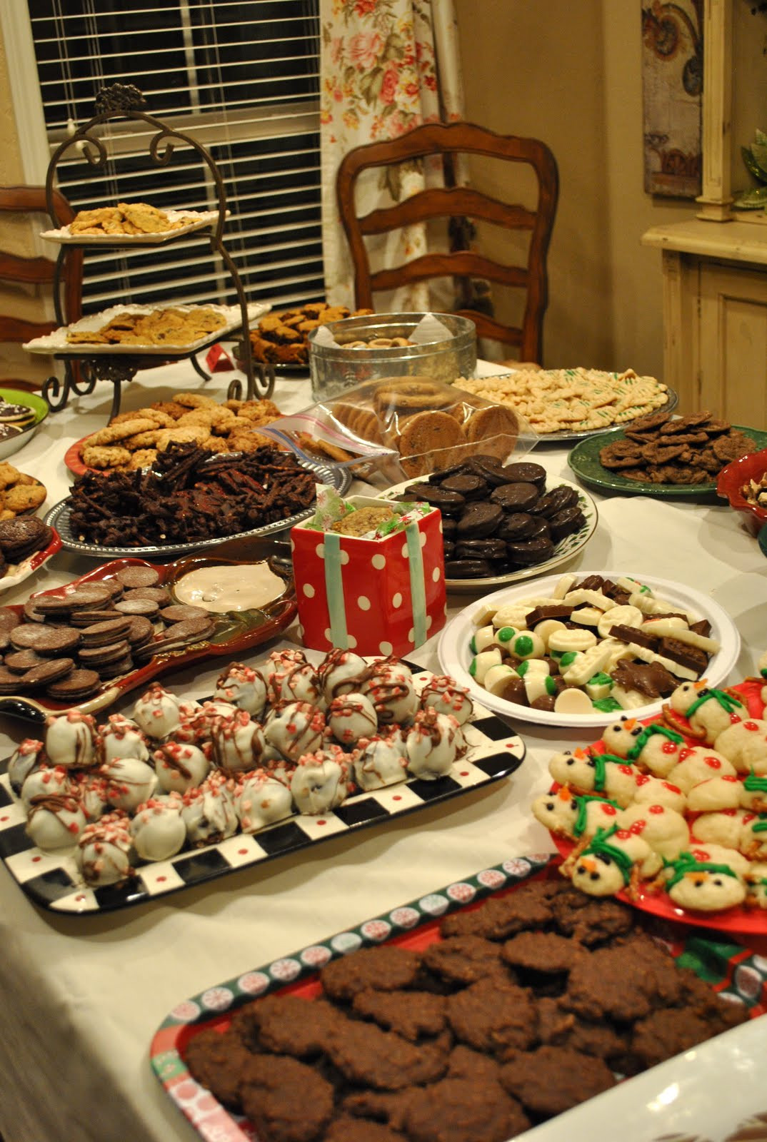 Christmas Cookie Baking Party  That Village House Cookie Exchange Party