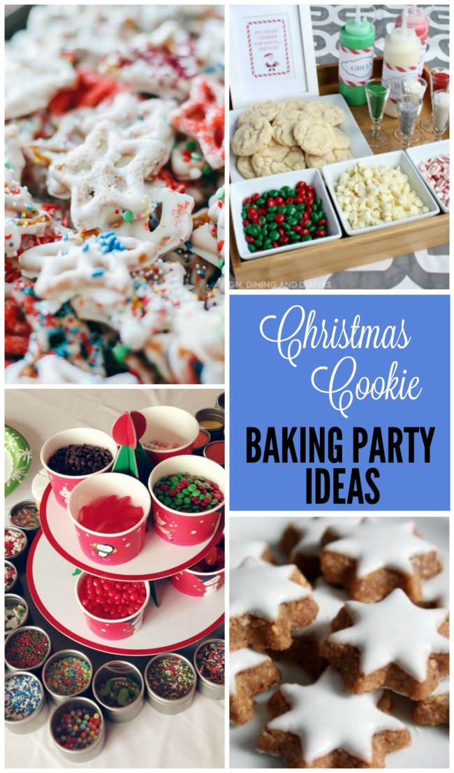 Christmas Cookie Baking Party  Cookie Baking Party Ideas Design Dazzle