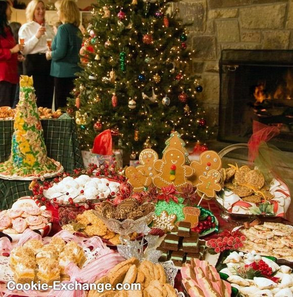 Christmas Cookie Baking Party  208 best Cookie Exchange Ideas images on Pinterest