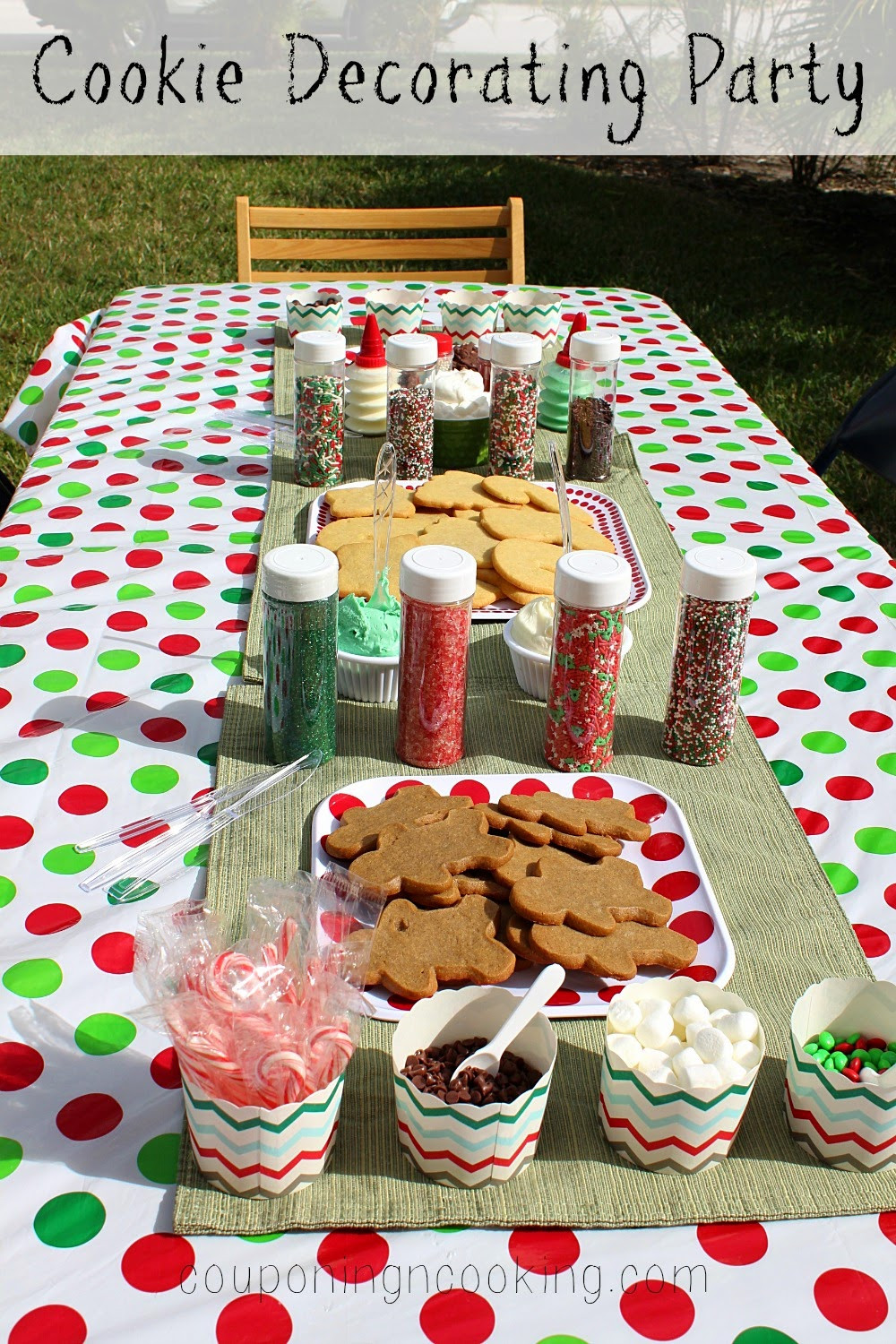 Christmas Cookie Baking Party  Tobins Tastes Holiday Cookie Decorating Party Easy