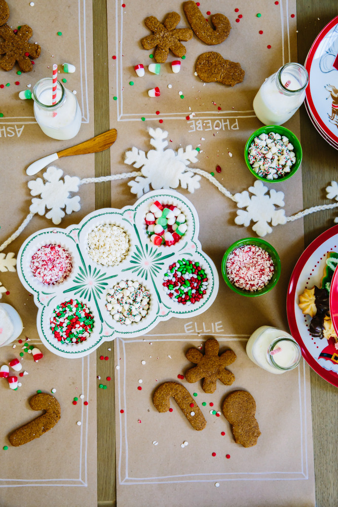 Christmas Cookie Baking Party  How to Host a Cookie Decorating Party Camille Styles