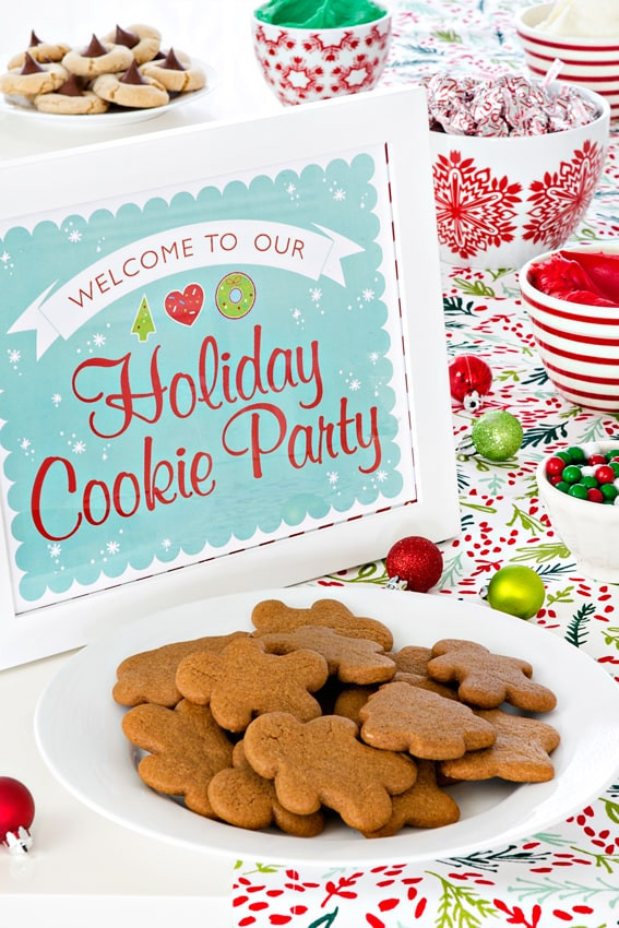 Christmas Cookie Baking Party  How to Host A Holiday Cookie Party for Kids My Baking