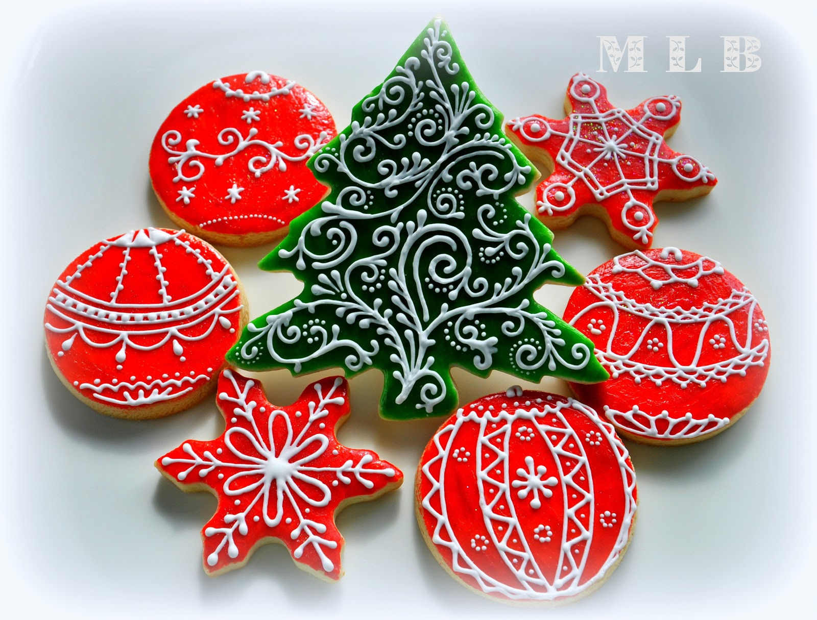 Christmas Cookie Icing  My little bakery 🌹 Christmas tree cookies And polish