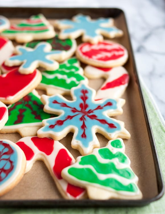 Christmas Cookie Icing Ideas  How To Decorate Cookies with 2 Ingre nt Easy Icing