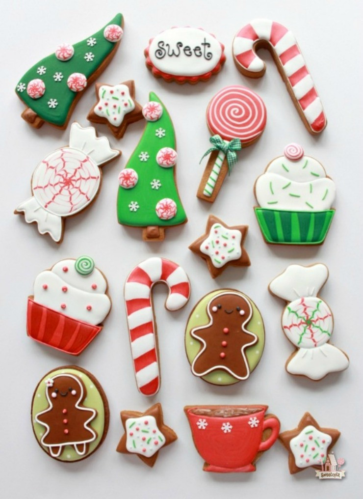 Christmas Cookie Icing Ideas  Awesome Christmas Cookies to Make You Smile