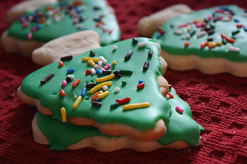 Christmas Cookie Icing That Hardens  Christmas Tree Cookies s and for