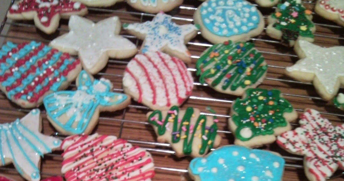 Christmas Cookie Icing That Hardens  Let s do Christmas Cookie icing that hardens