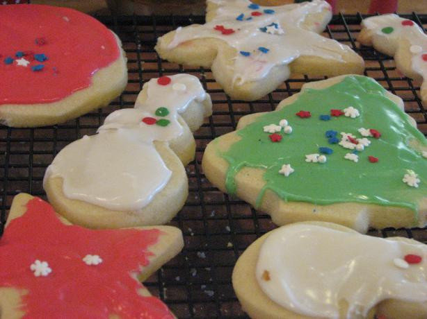 Christmas Cookie Icing That Hardens  King Arthur Holiday Butter Cookies And Icing That Hardens