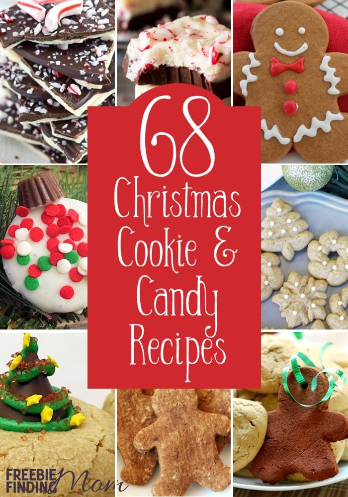 Christmas Cookies And Candies Recipes  68 Christmas Cookie and Candy Recipes