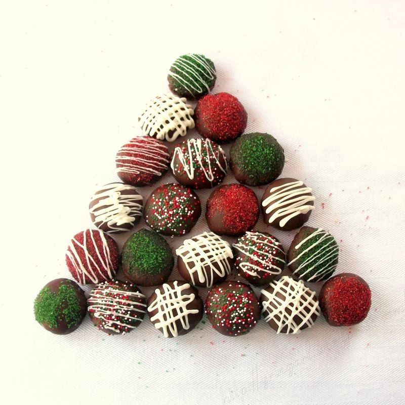 Christmas Cookies And Candy  Chocolate Candy Cookies