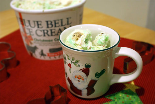 Christmas Cookies Blue Bell  Second Scoop Ice Cream Reviews Blue Bell Christmas