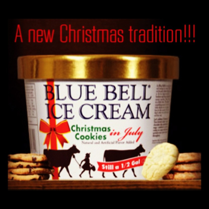 Christmas Cookies Blue Bell  28 best images about Bluebell Ice cream on Pinterest