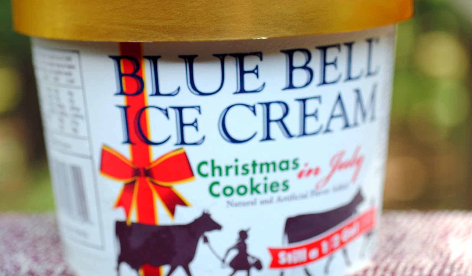 Christmas Cookies Blue Bell  food and ice cream recipes REVIEW Blue Bell Christmas